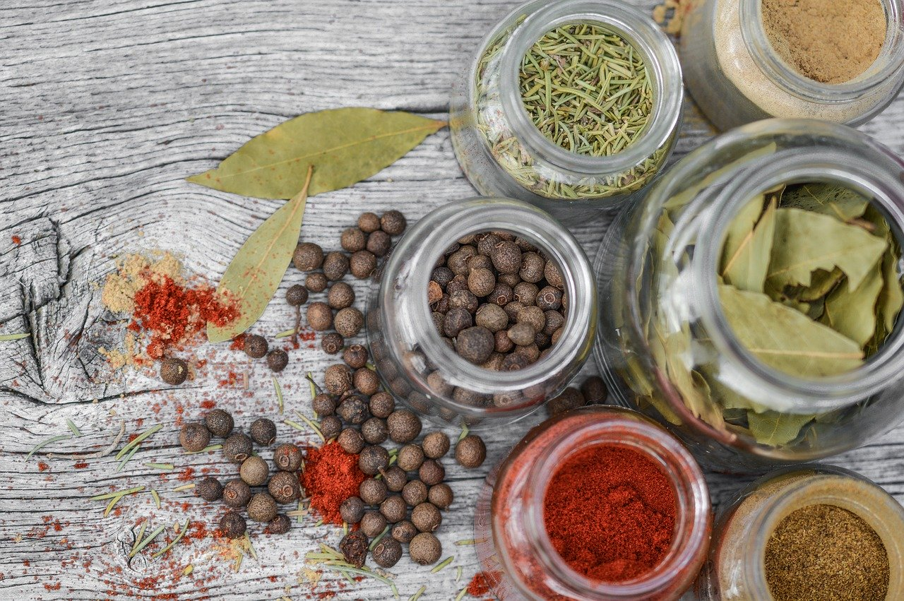 spices, jar, cooking