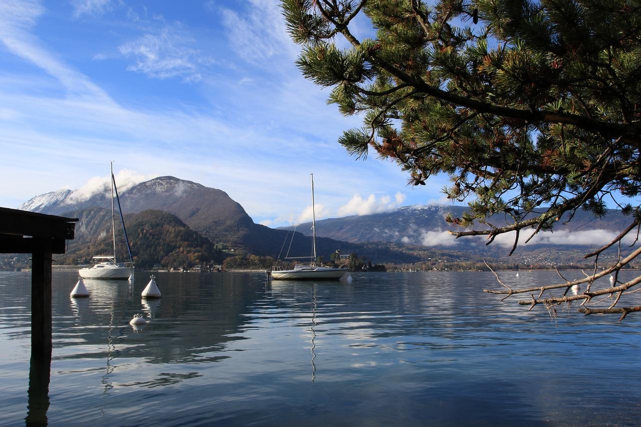 lake, talloire, annecy
