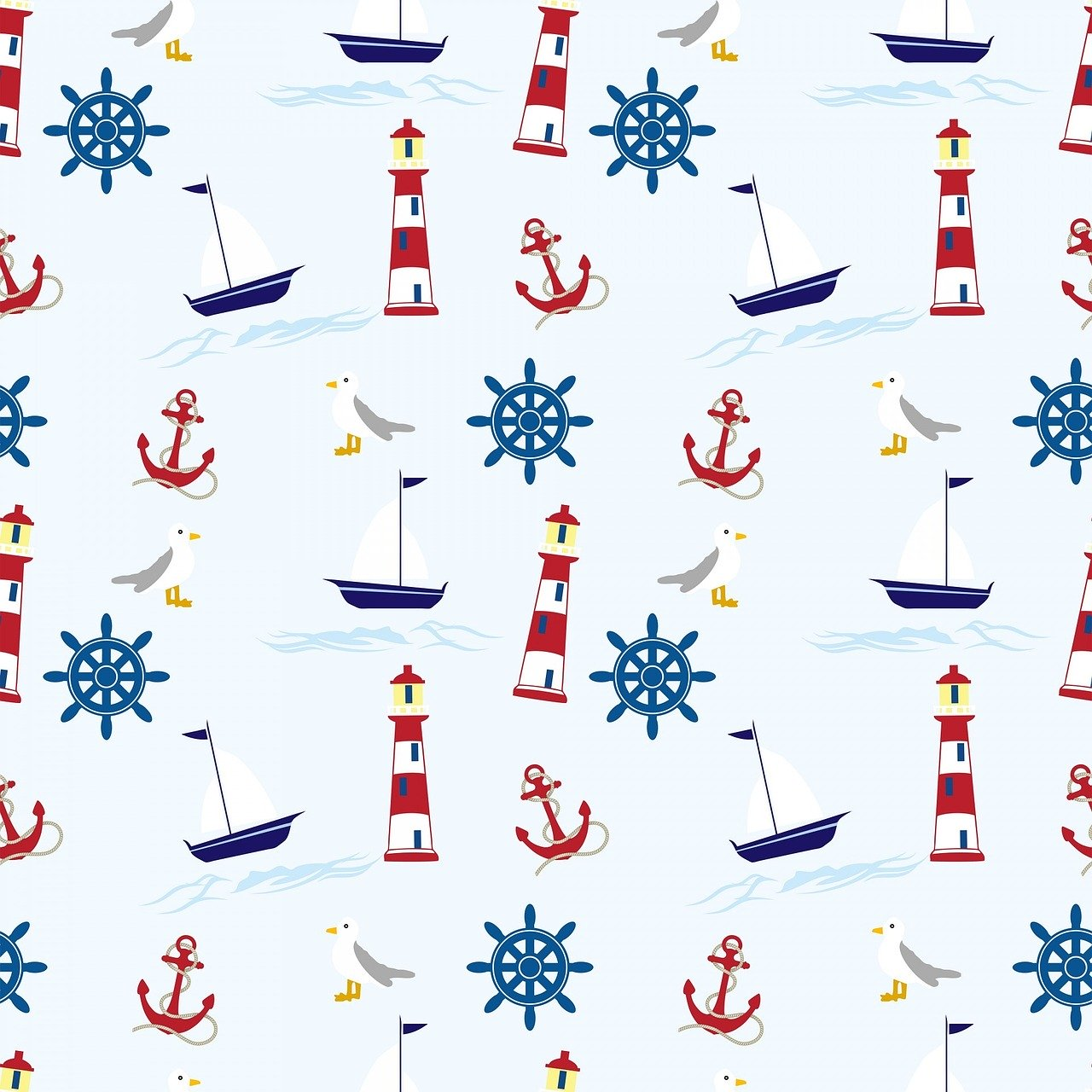 nautical, wallpaper, background